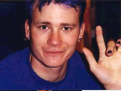 Tom w/ Blue Hair!